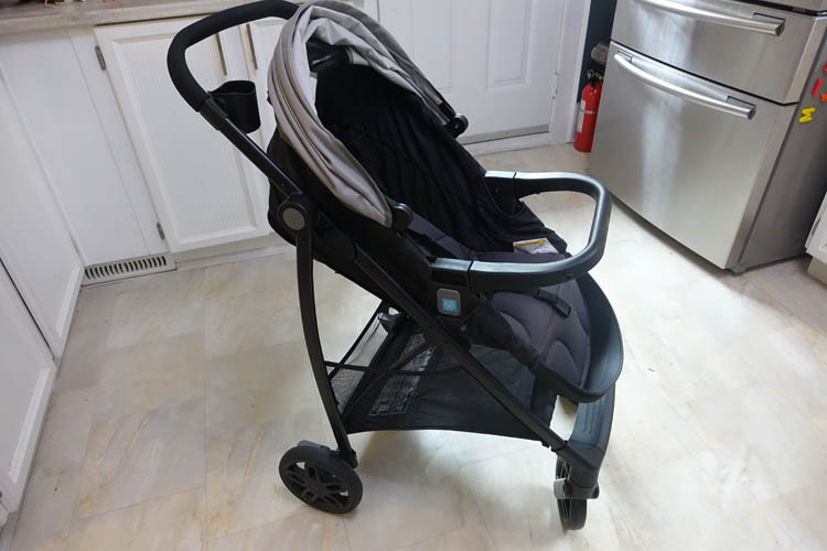 graco views travel system stroller seat forward