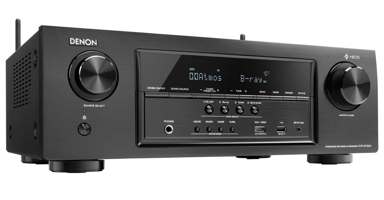 Denon AVR-S730H ATMOS Receiver Review | Best Buy Blog