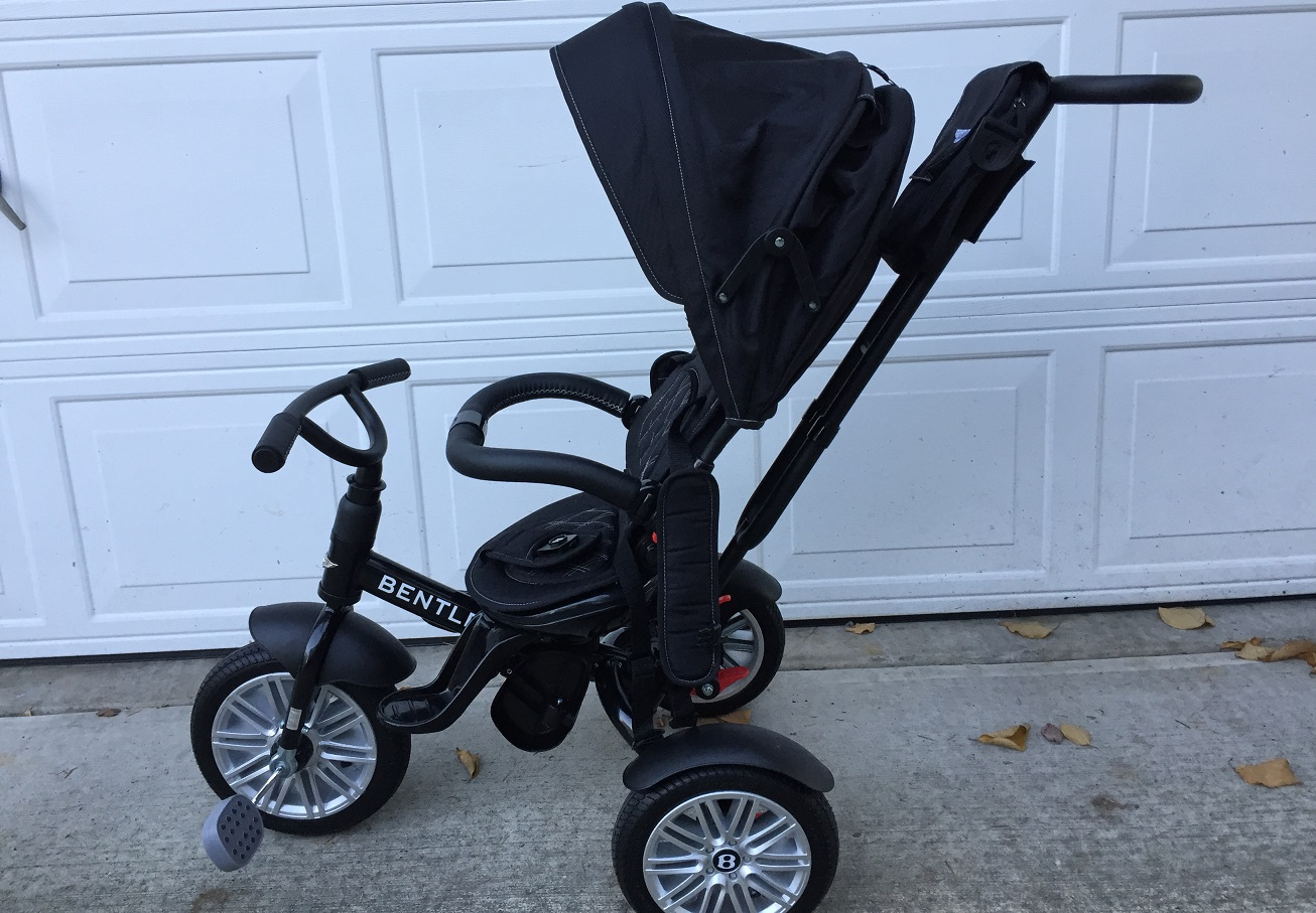Review Of The Bentley Convertible 6 In 1 Smart Tricycle
