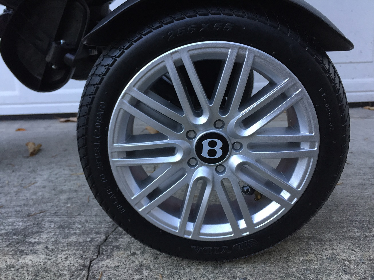 Bentley Convertible Tricycle Wheel