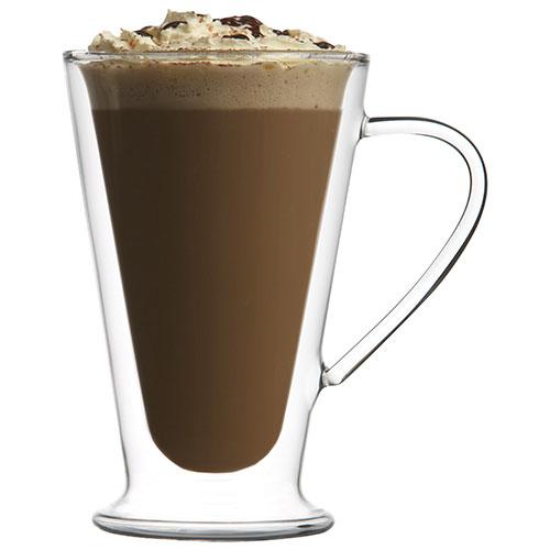 Brilliant double wall latte