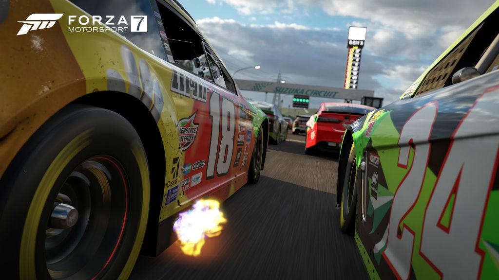 Forza Motorsport 7 fast racing