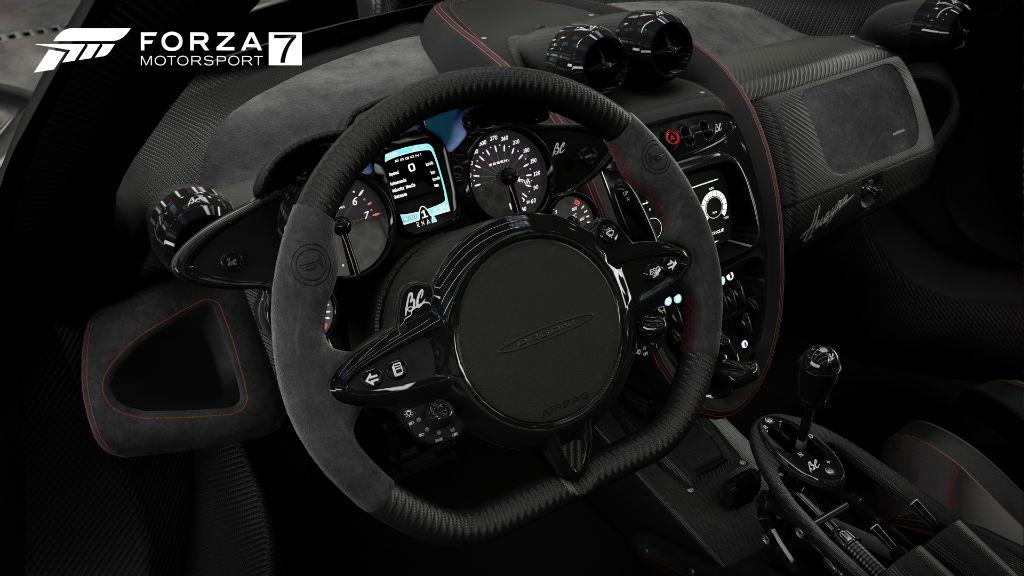 Forza Motorsport 7 car interiors