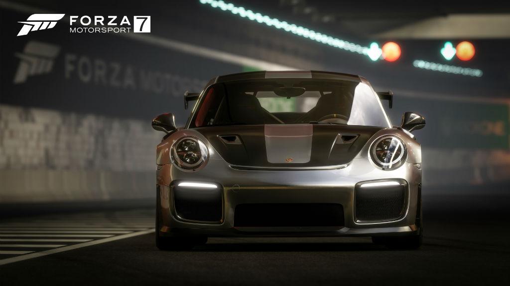 Forza Motorsport 7 tunnel racing