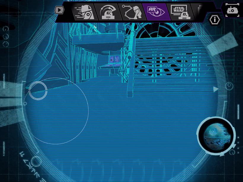 Sphero R2-Q5 Death Star II mode