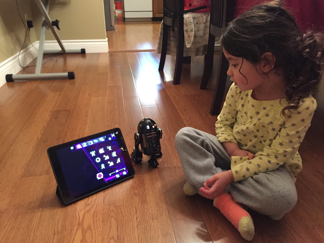 Sphero R2-Q5 and Charlotte