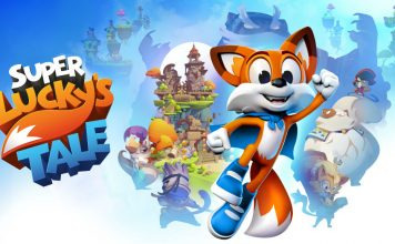 Super Lucky's Tale artwork