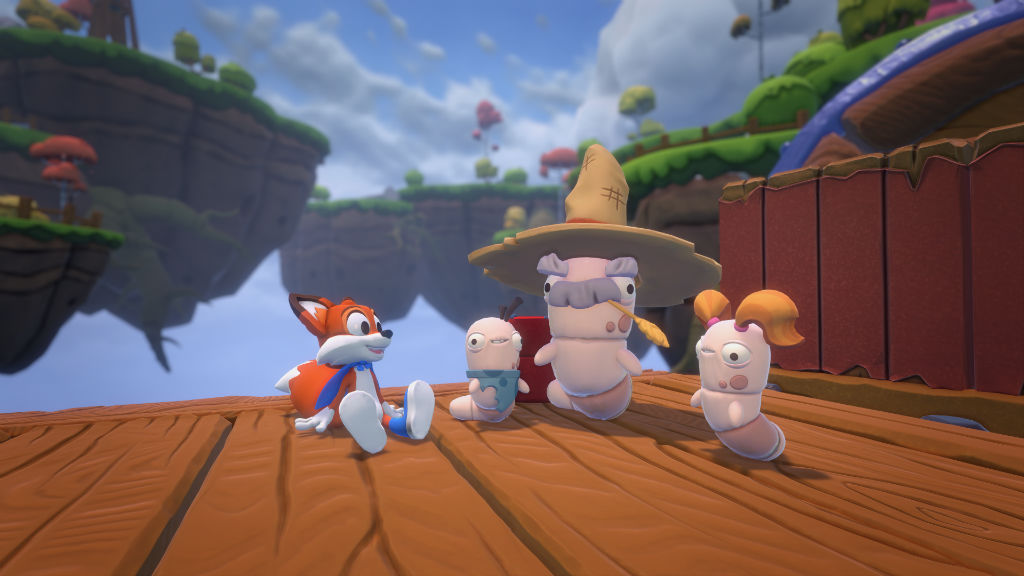 Super Lucky's Tale and friends