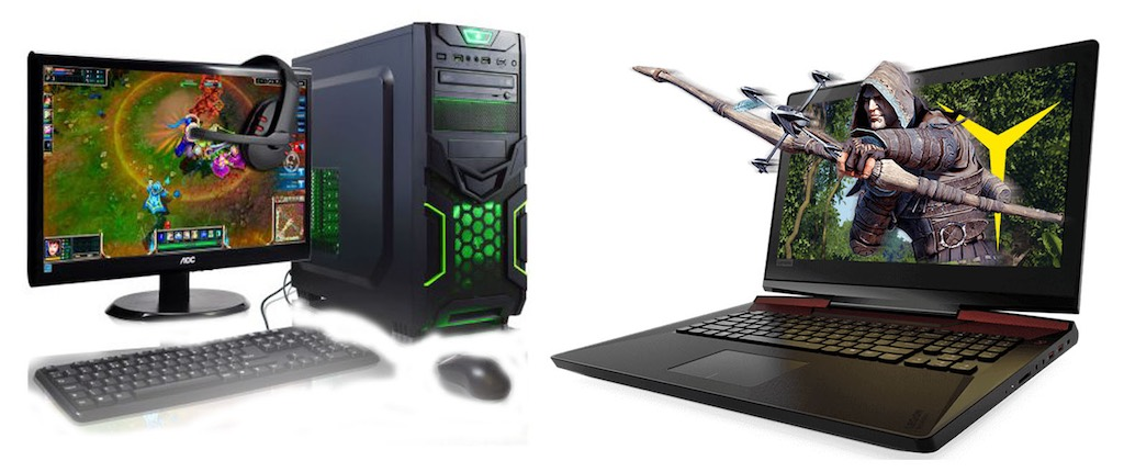 desktop or laptop which computer is better for gaming