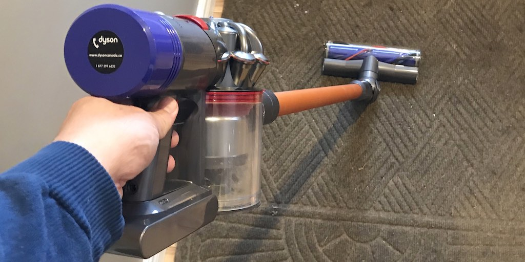 dyson v8 absolute cordless vacuum cleaner reviewed best. Black Bedroom Furniture Sets. Home Design Ideas