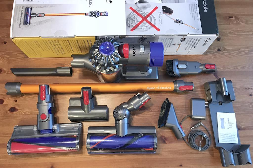 Dyson Absolute V8 review