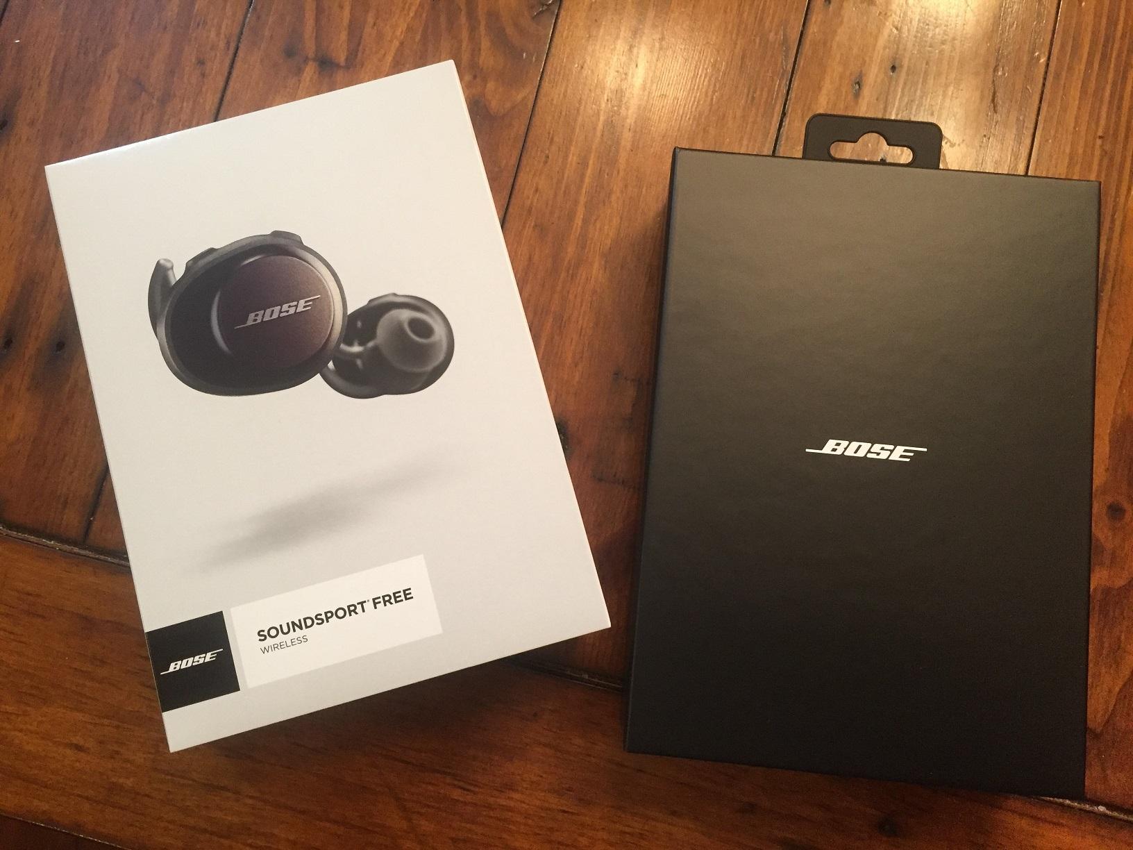 Review Bose Spoundsport Free Wireless Earbud Headphones