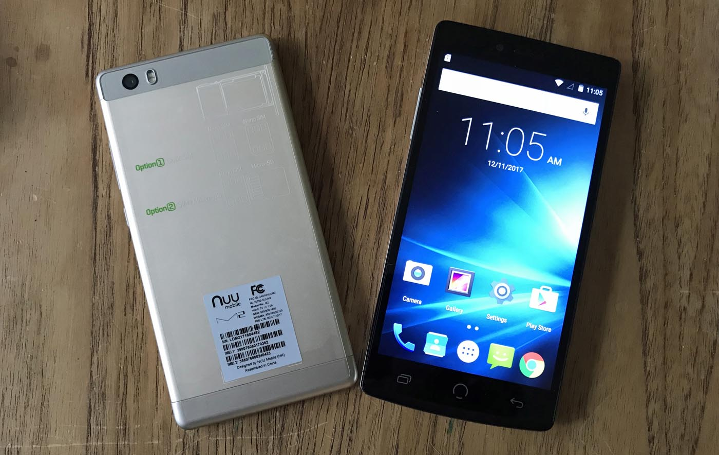 Review of Nuu M2 and Z8 smartphones | Best Buy Blog