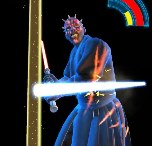 Jedi Challenges Darth Maul Battle