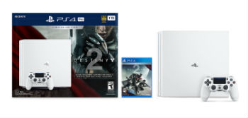 PlayStation 4 Pro 1TB Glacier White Destiny 2 Bundle