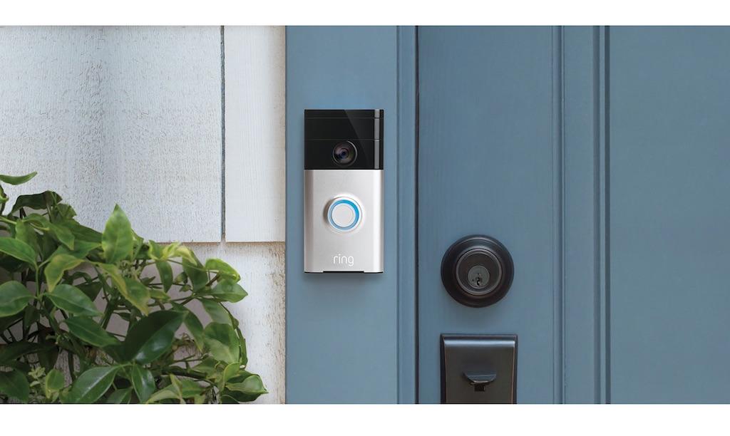 Ring Doorbell Camera Installed