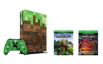 Xbox One S 1TB Limited Minecraft Edition Bundle