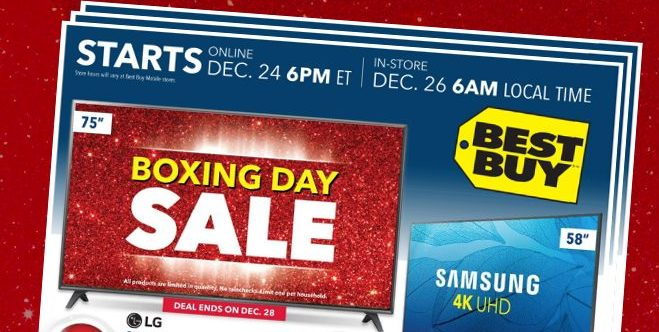 Boxing Day deals at Best Buy