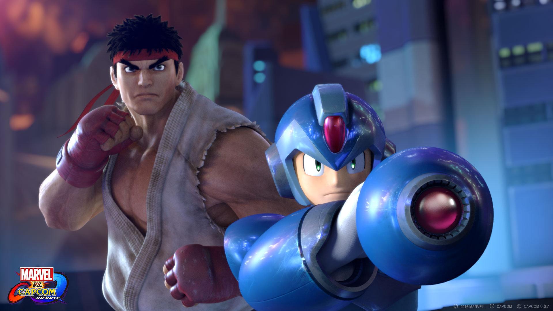 Marvel vs Capcom Infinite Ryu Mega Man