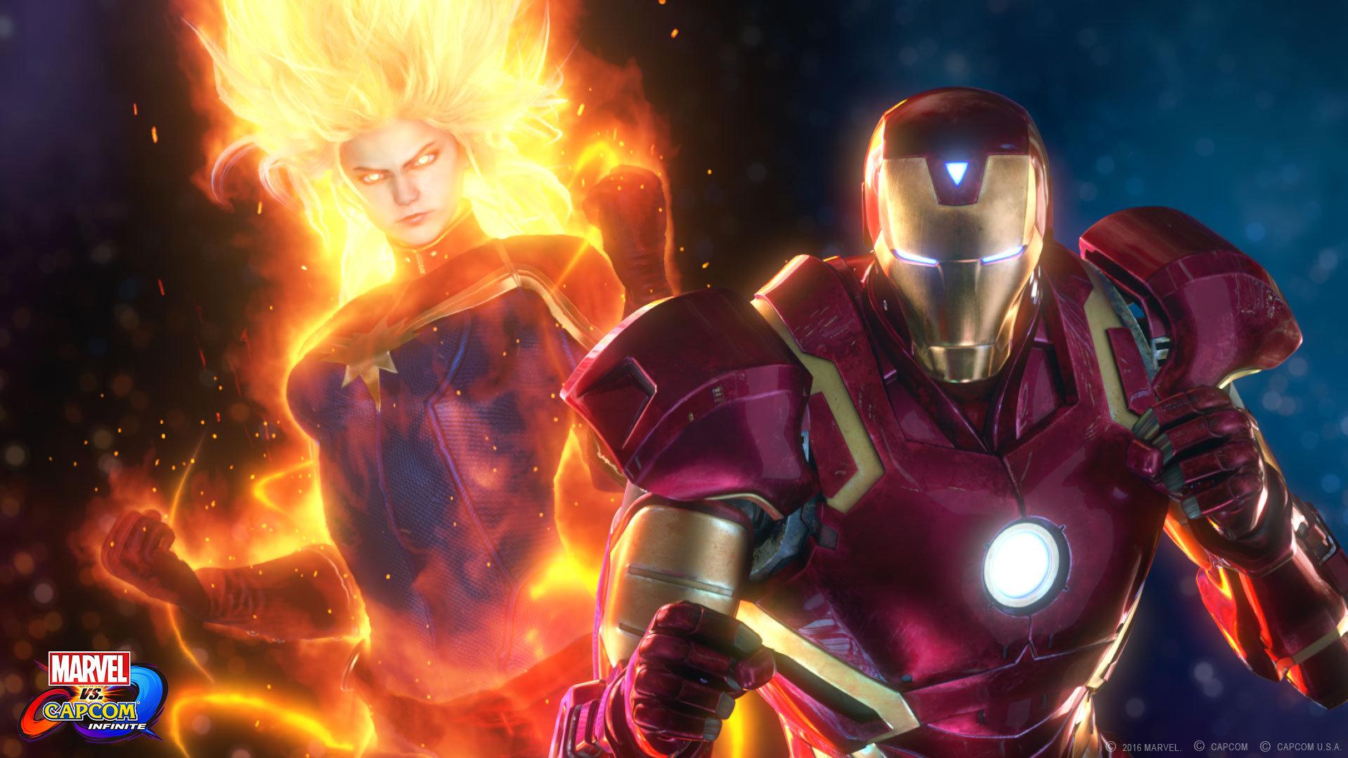Marvel vs Capcom Infinite Iron Man