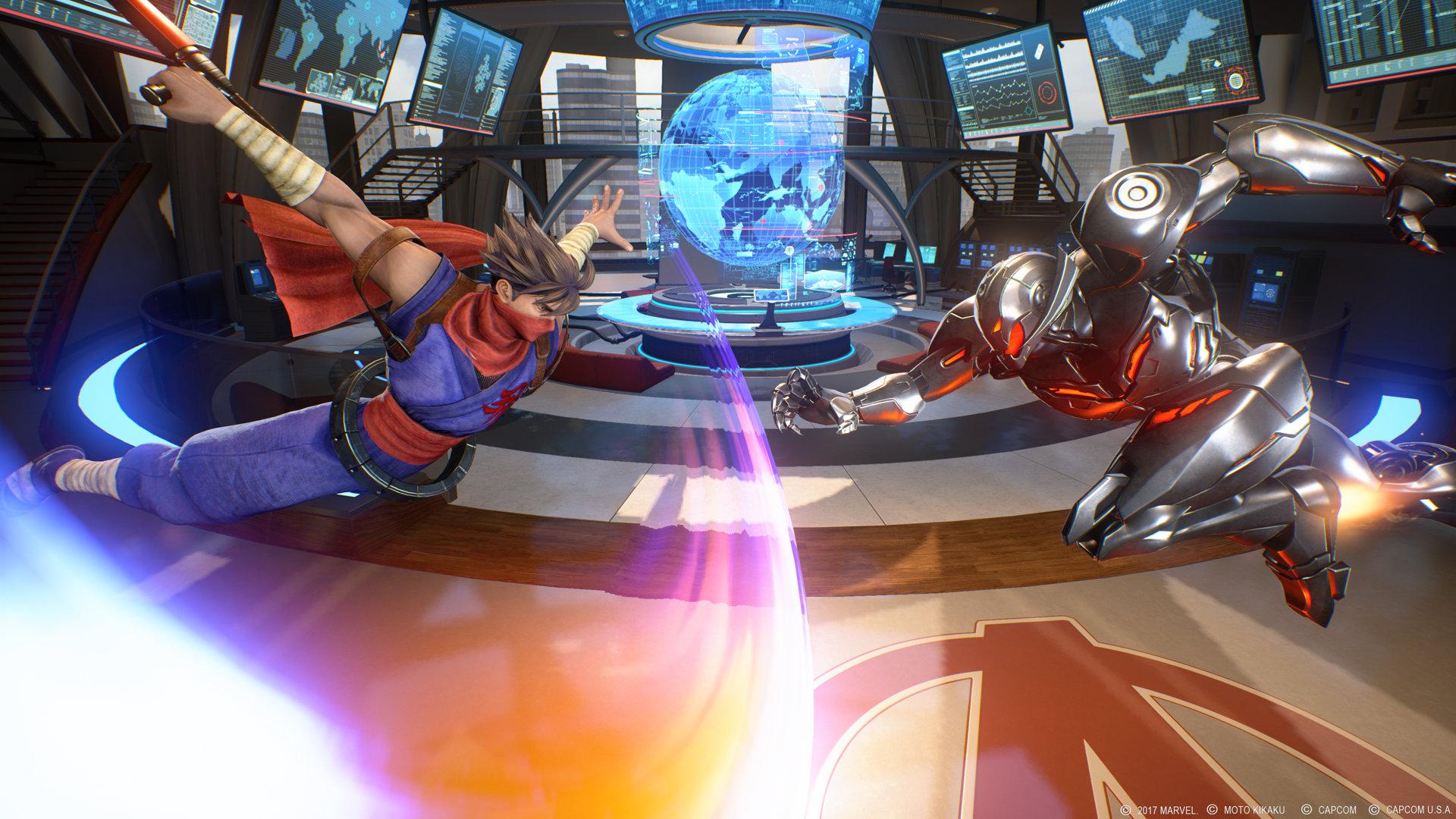 Marvel vs Capcom Infinite Ultron