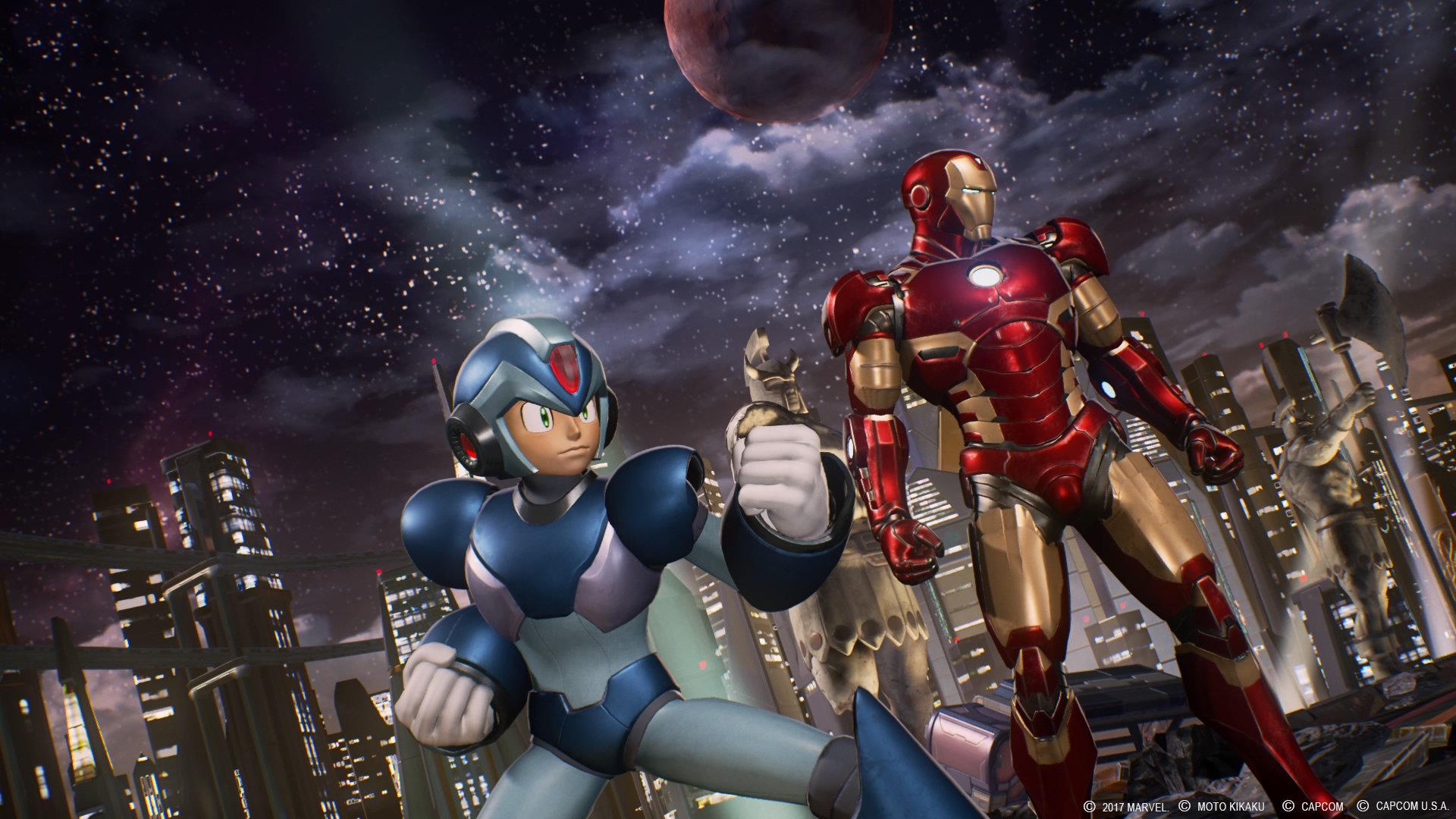 Marvel vs Capcom Infinite combat
