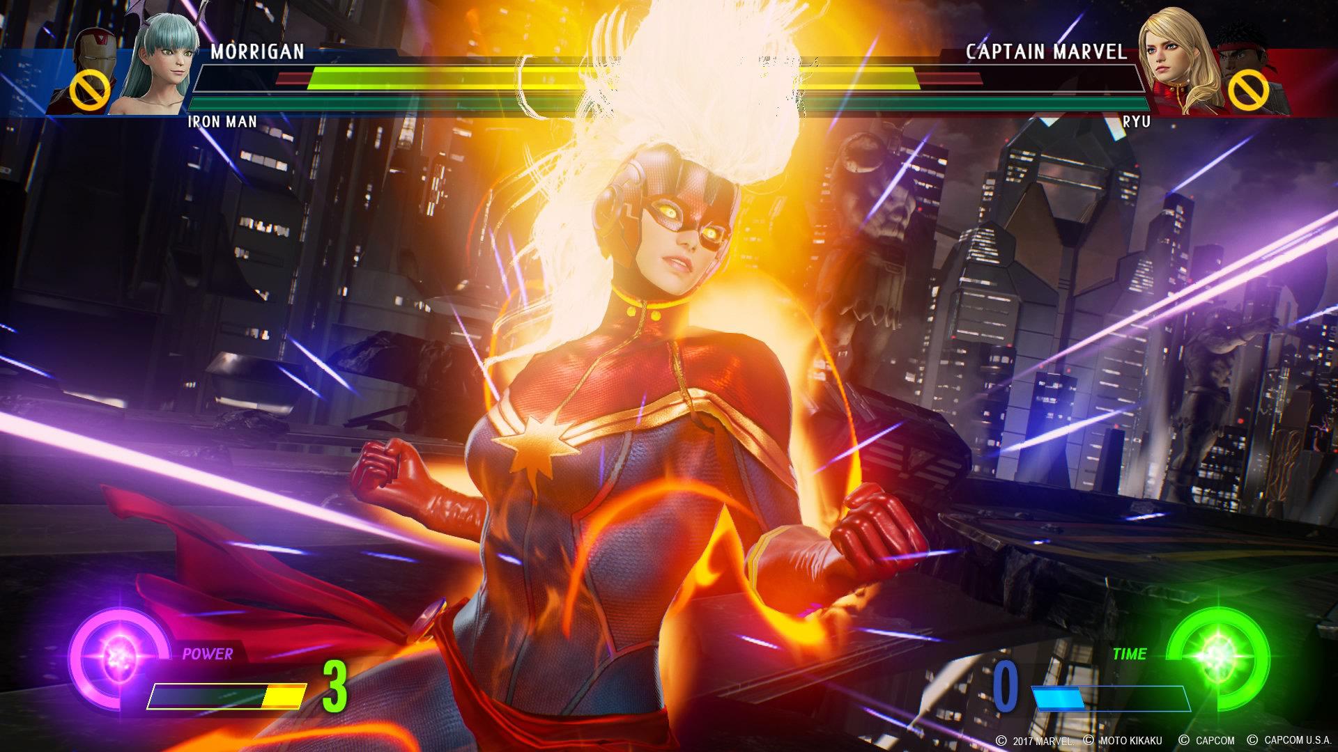 Marvel vs Capcom Infinite stone