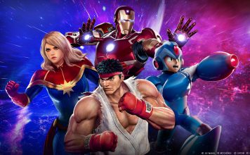 Marvel vs Capcom Infinite artwork