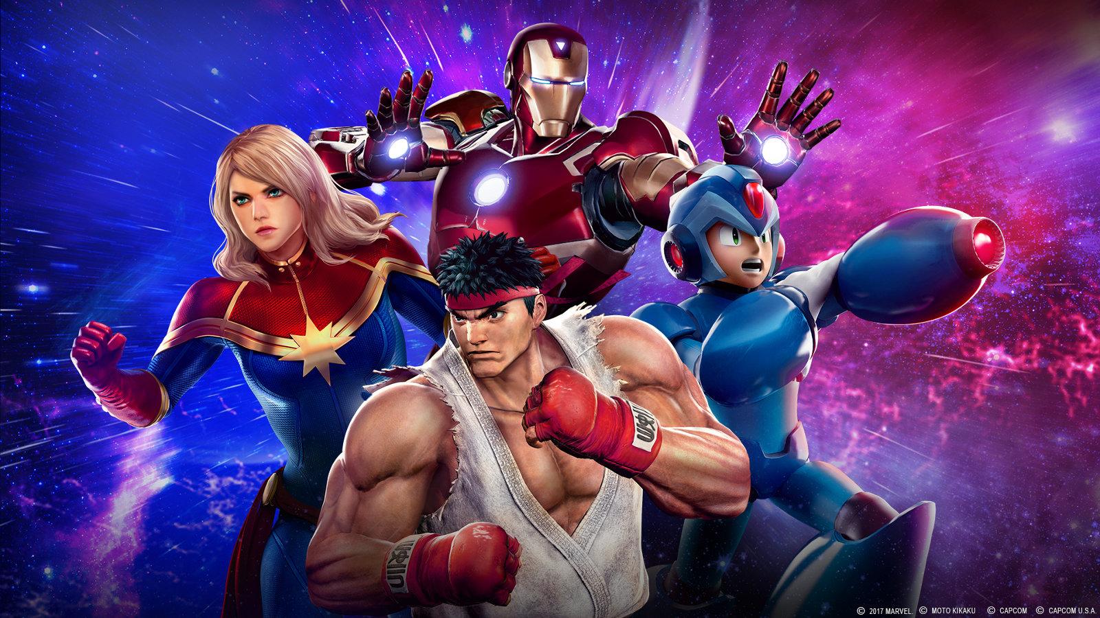 Marvel vs Capcom Infinite artwork