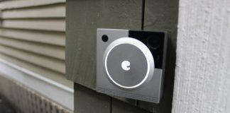 August Doorbell Cam Pro Installed
