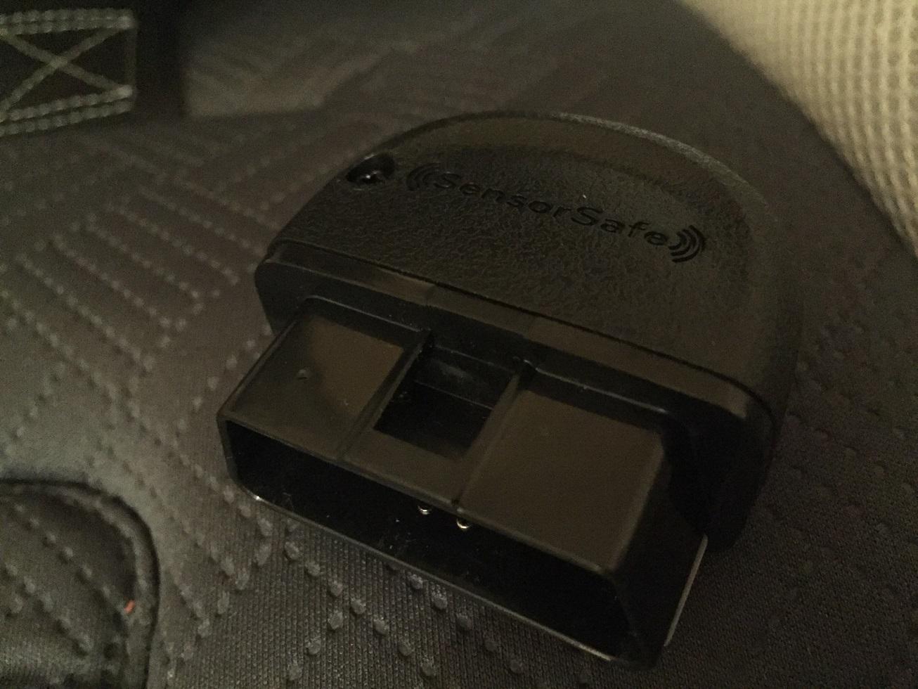 Evenflo Symphony DLX with SensorSafe OBD Plug