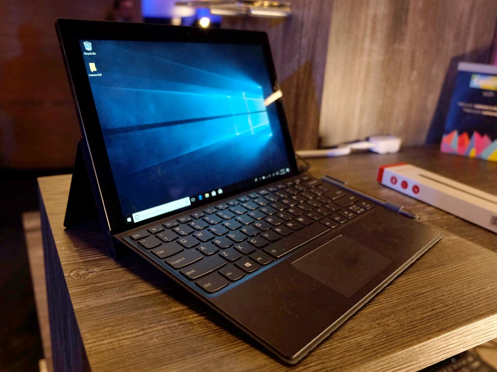 CES 2018: hands-on with the new Lenovo Miix 630 2-in-1