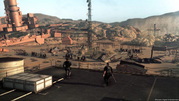 Metal Gear Survive base