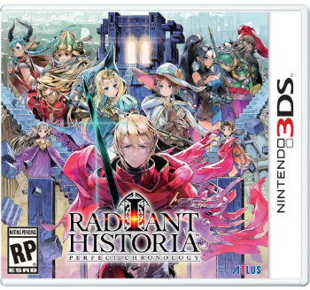 Radiant Historia Perfect Chronology-3ds