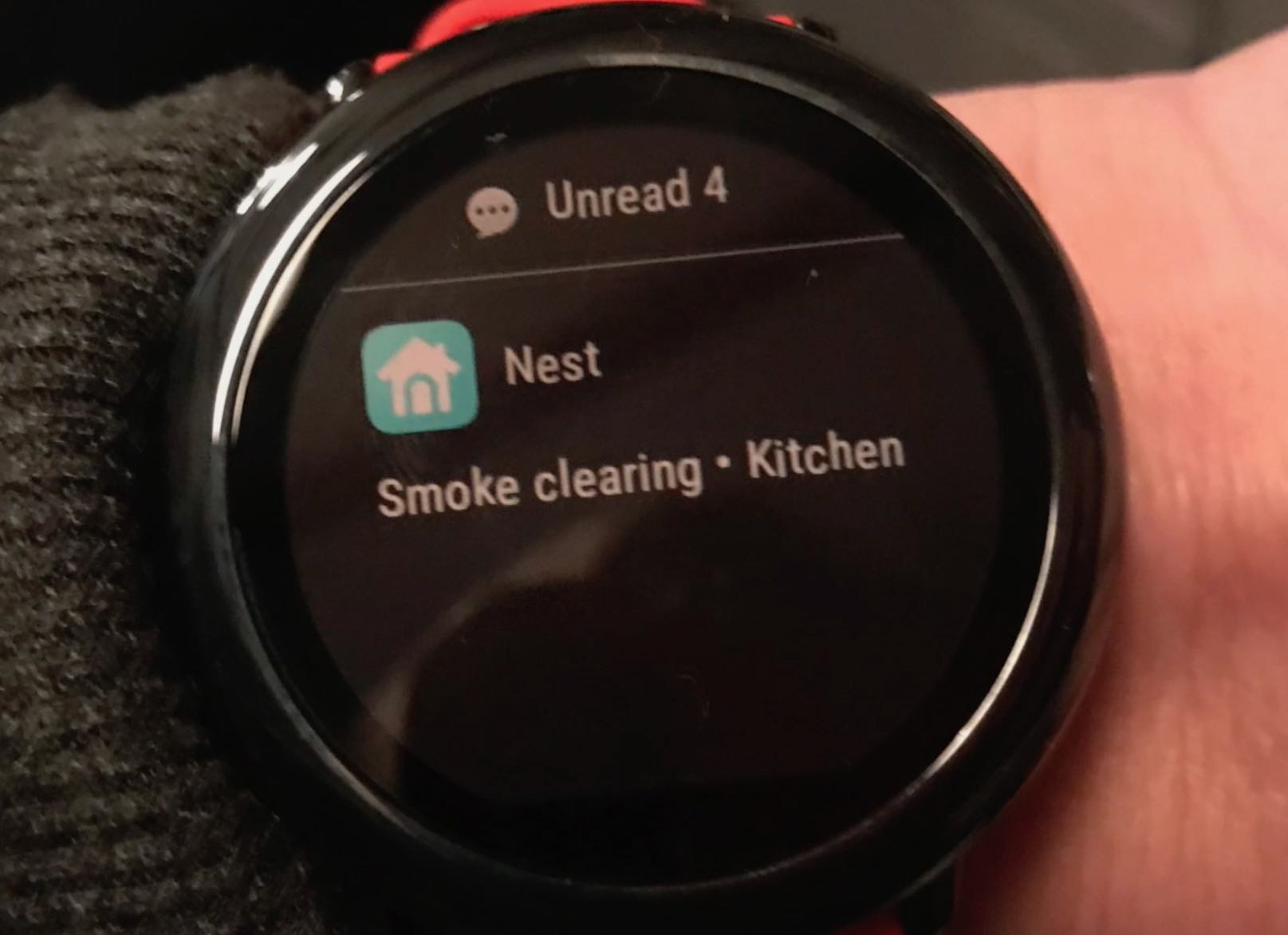 Smart notifications amazfit smart watch