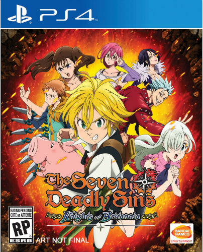 The Seven Deadly Sins Knights of Britannia-PS4