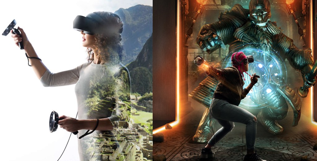 What's the difference between VR and Windows Mixed Reality