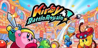 Kirby Battle Royale art