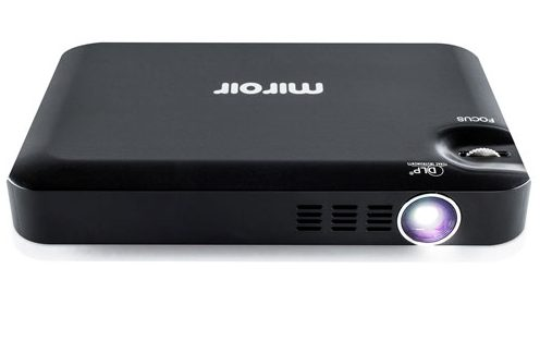 Miroir m55 micro pocket projector review best buy blog for Miroir hd pro projector review