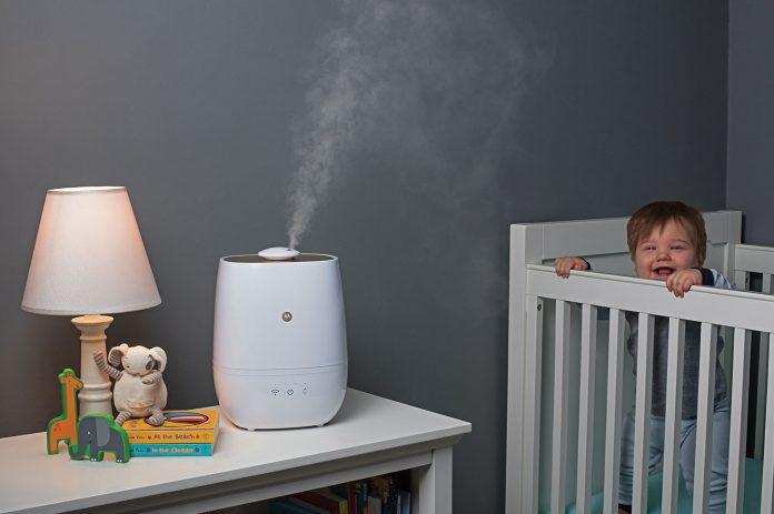 baby essentials cold season motorola humidifier