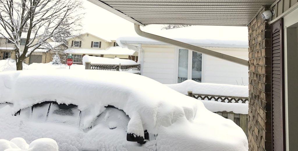 outdoor security camera in Canada