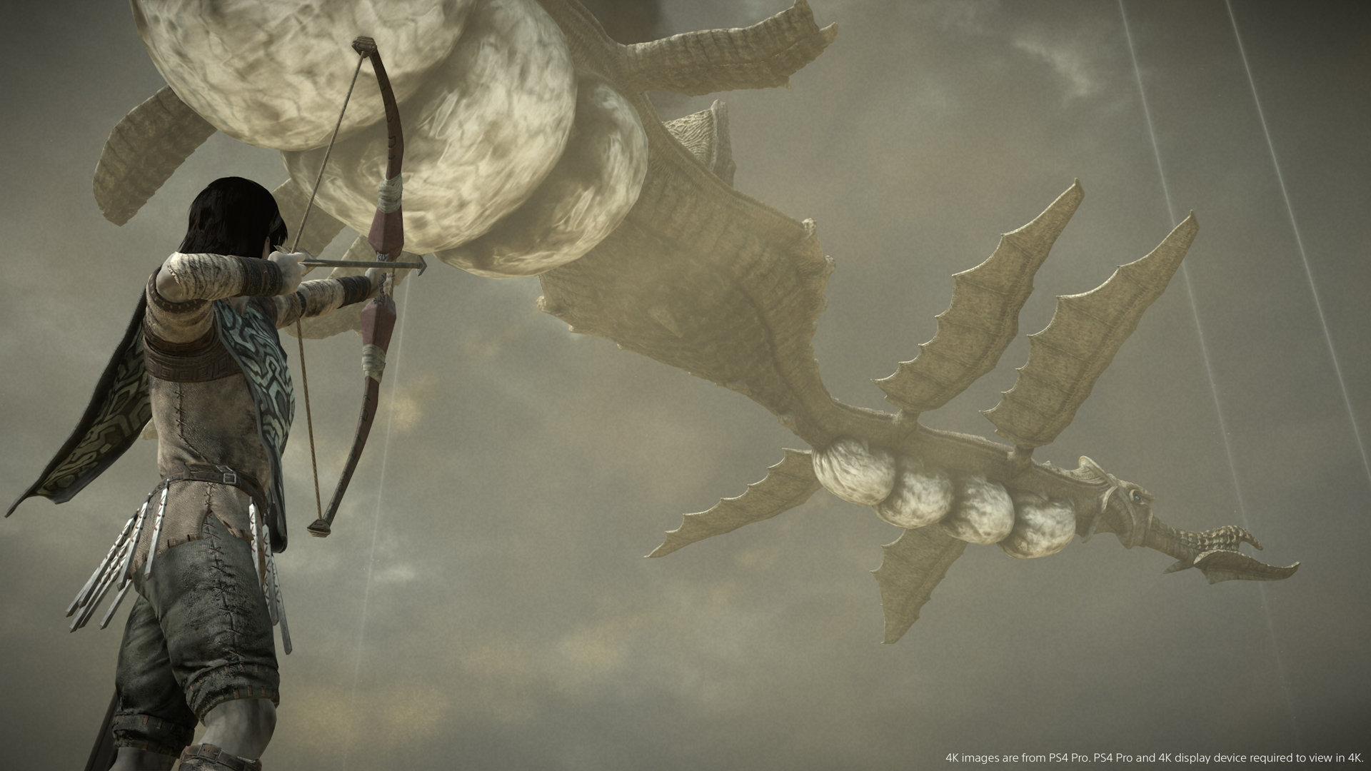 Shadow of the Colossus PS4 bow and arrow