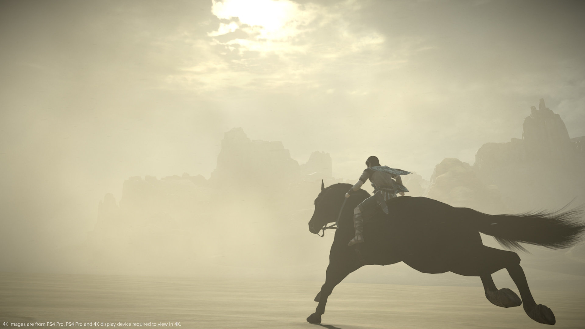 Shadow of the Colossus PS4 horse riding
