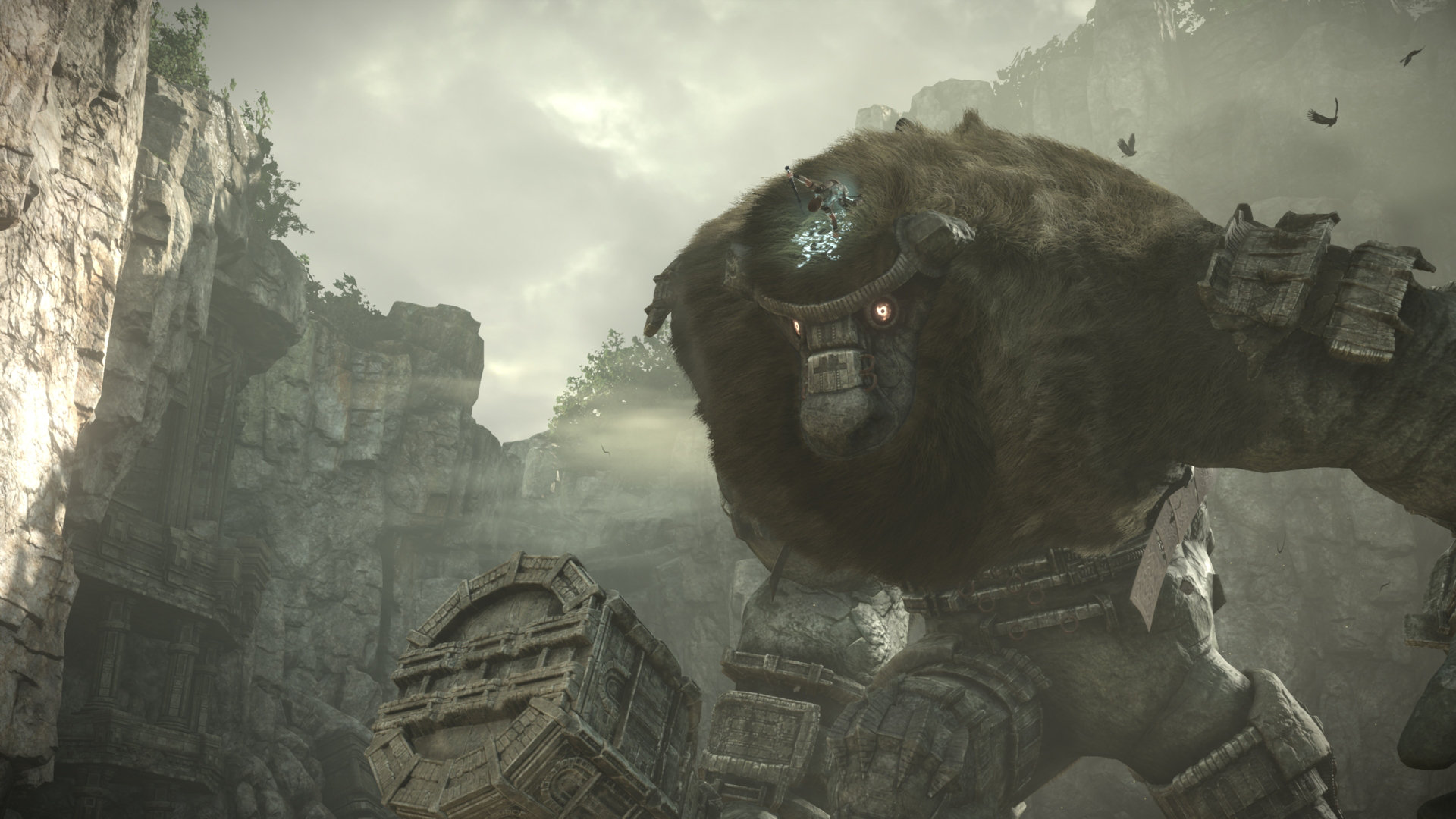 Shadow of the Colossus PS4 story