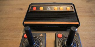 Atari Flashback 8 Gold contents