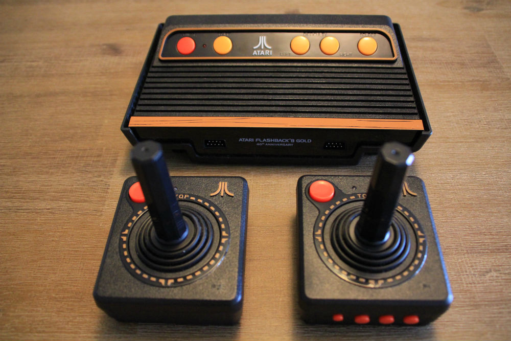 Atari flashback 8 gold console review best buy blog - Atari flashback 3 classic game console ...