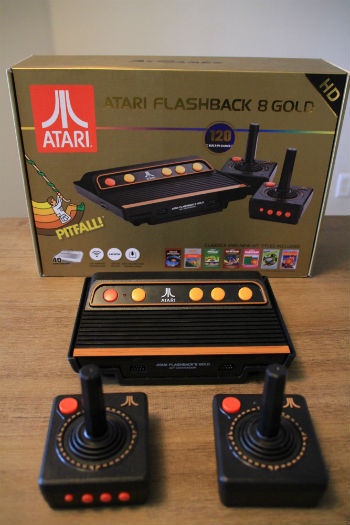 Atari Flashback 8 Gold vertical