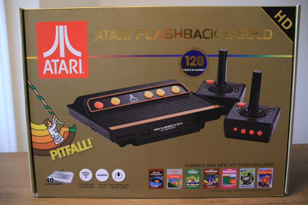 Atari Flashback 8 Gold box
