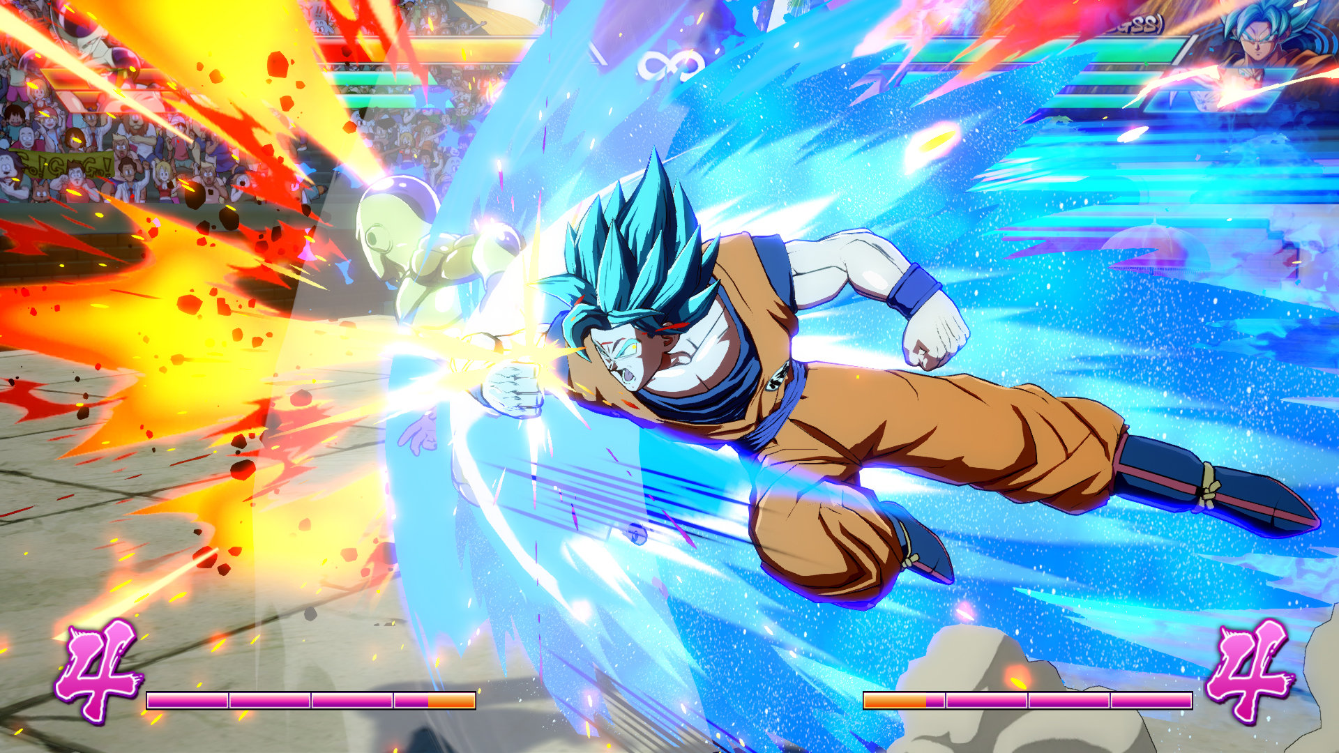 Dragon Ball FighterZ combat