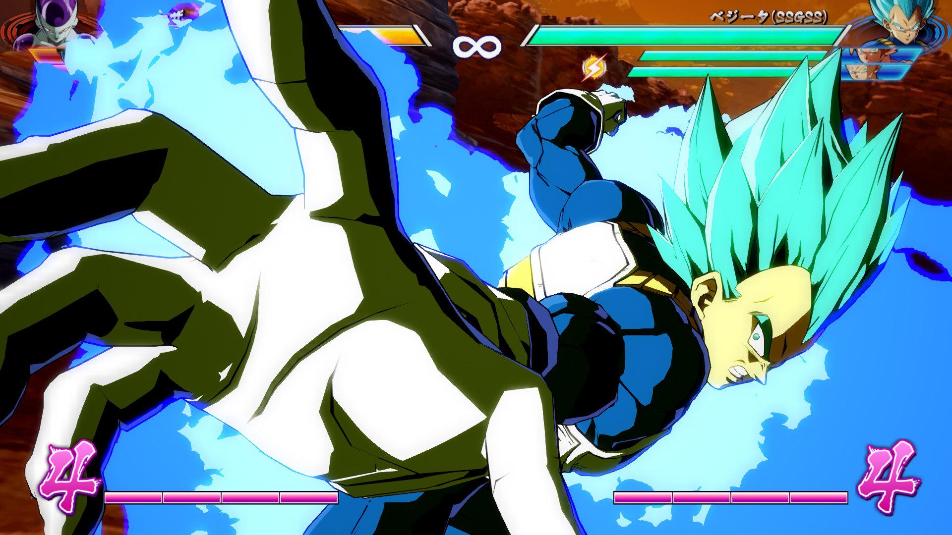Dragon Ball FighterZ battle